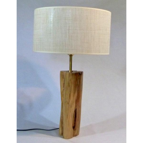 lámpara grande tronco enebro