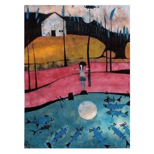 El estanque - Tarjeta AA