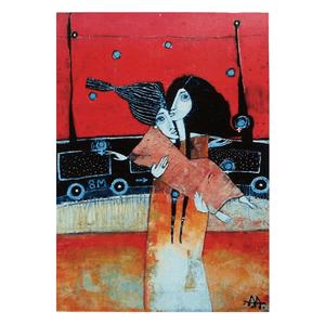 Mujer y jóven - Tarjeta AA