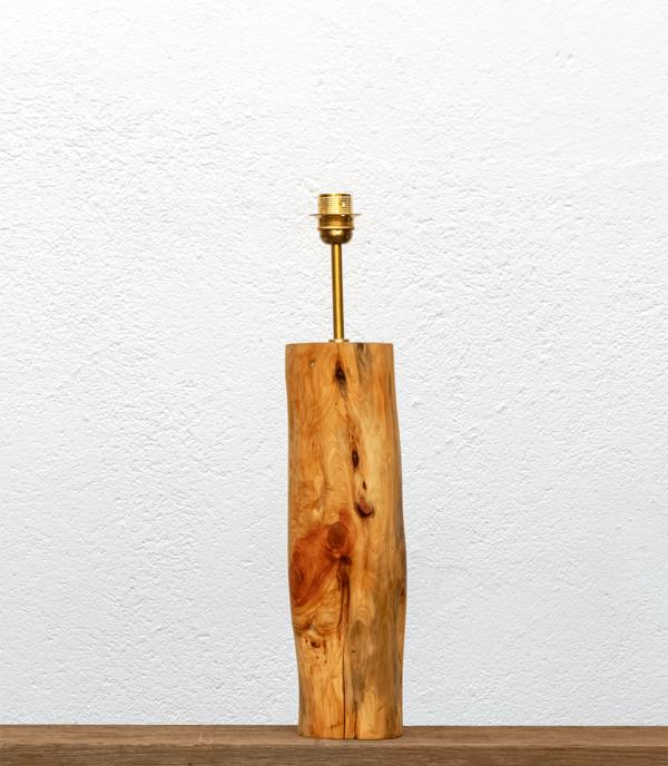 Lámpara Aroma-base - Base de Lámpara Yolpiq de madera de enebro/055-dn