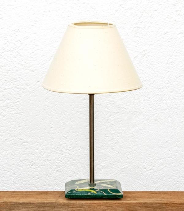 Lámpara maíz con pantalla blanca - dn