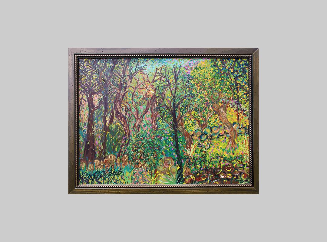 "blog ""El bosque""- pintura óleo YOLPIQ-DN"