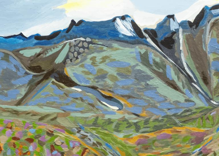 parte cuadro la montaña mágica-YOLPIQ-DN