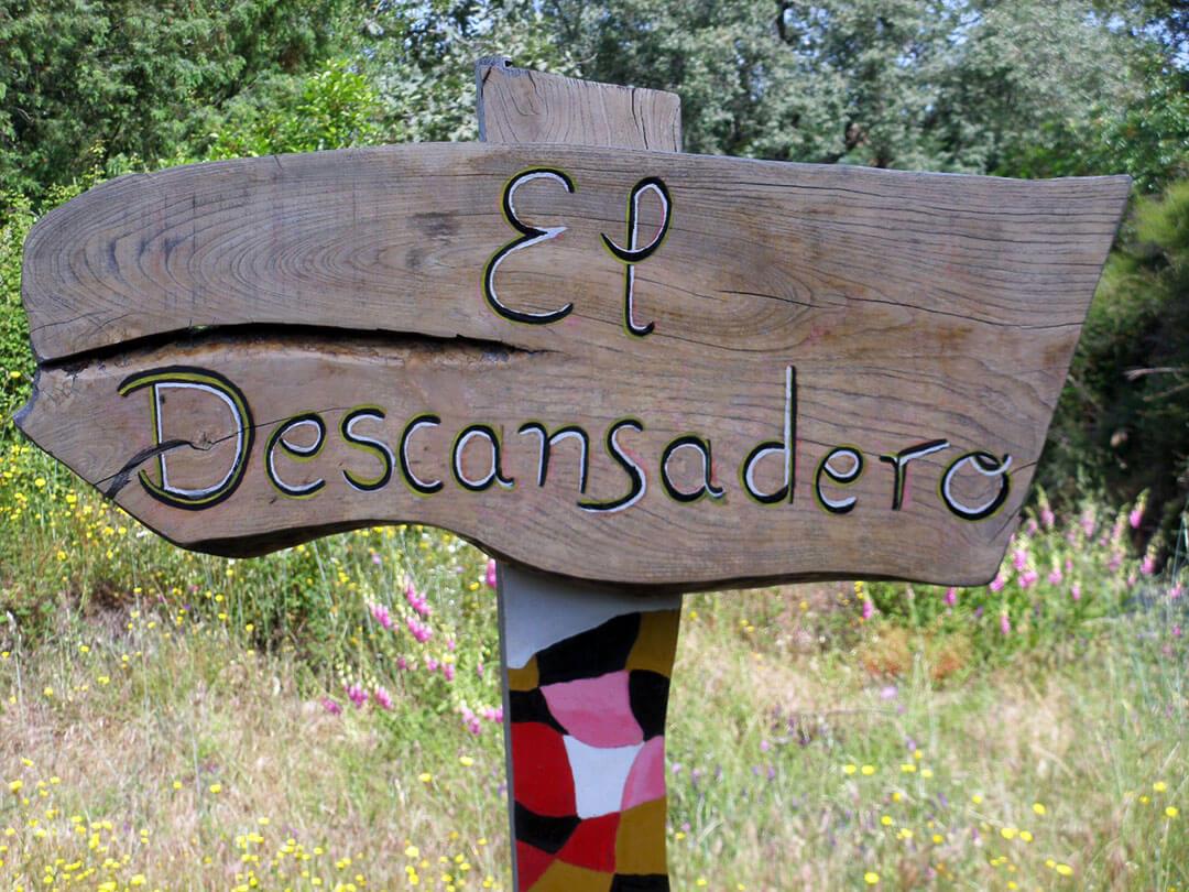 BLOG-cartel de El Descansadero - cara A LETRAS-DN